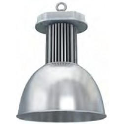 Cappellone industriale LED 150W luce fredda angolo 45°