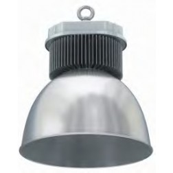 Cappellone industriale LED 200W luce fredda angolo 45°