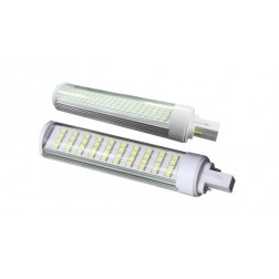Corn Light G24 9W luce fredda lente satinata