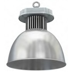 Cappellone industriale LED 50W luce fredda angolo 45°