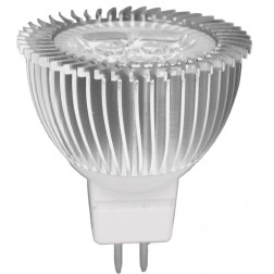 Spot light MR16 3W luce calda